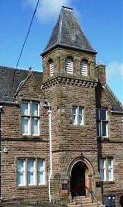 Campbeltown Sheriff Court © Crown copyright