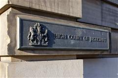 High Court of Justiciary entrance, Edinburgh